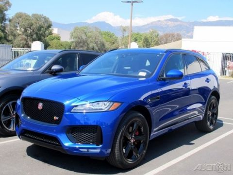 New 2018 Jaguar F-PACE S With Navigation & AWD