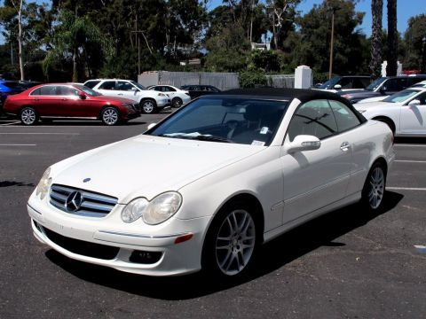 Pre-Owned 2009 Mercedes-Benz CLK 3.5L RWD Convertible