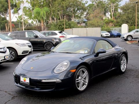 Pre-Owned 2014 Porsche 911 Carrera With Navigation