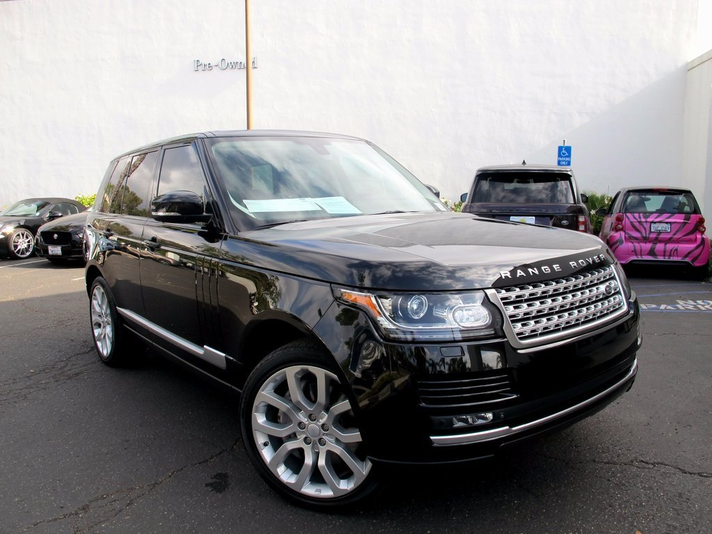 Certified Pre-Owned 2015 Land Rover Range Rover Supercharged